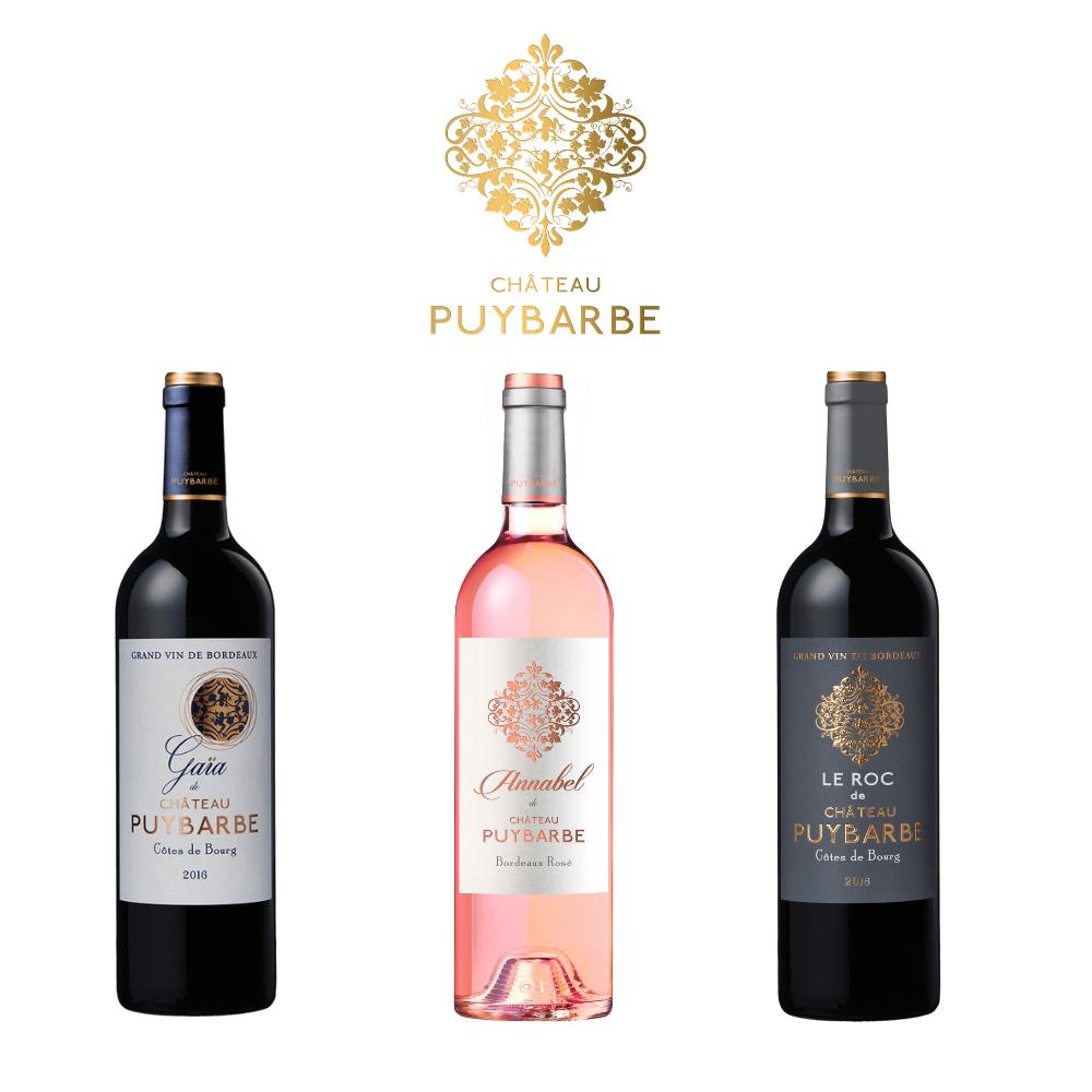 Box tre bottiglie: Gaia, Annabel, Le Roc de Chateau Puybarbe