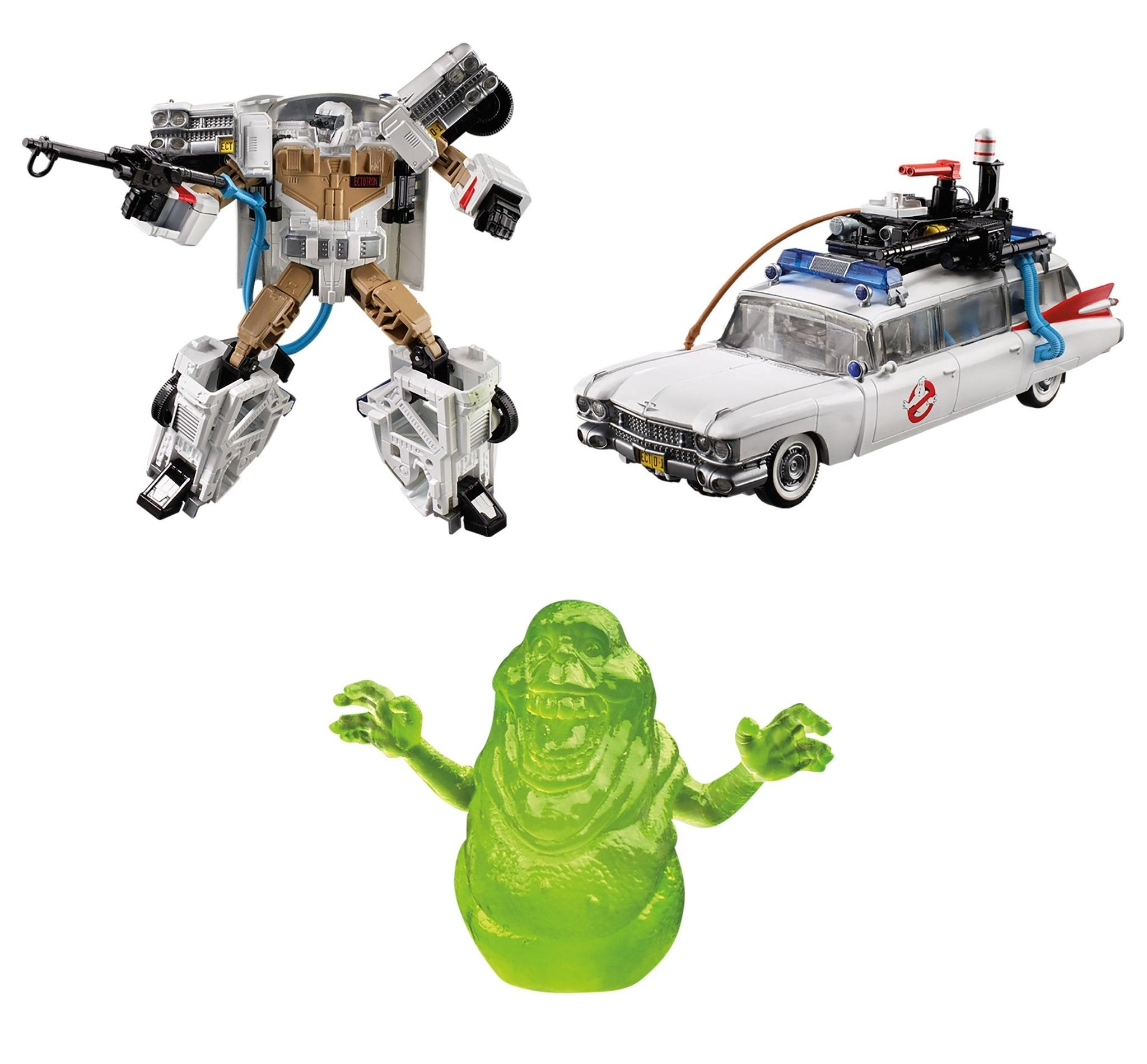 Transformers x Ghostbuster: ECTO-1 Ectotron by Hasbro
