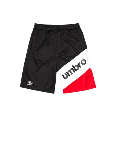 Short Umbro Nero/Roso - Pantaloncino da Uomo 00140B