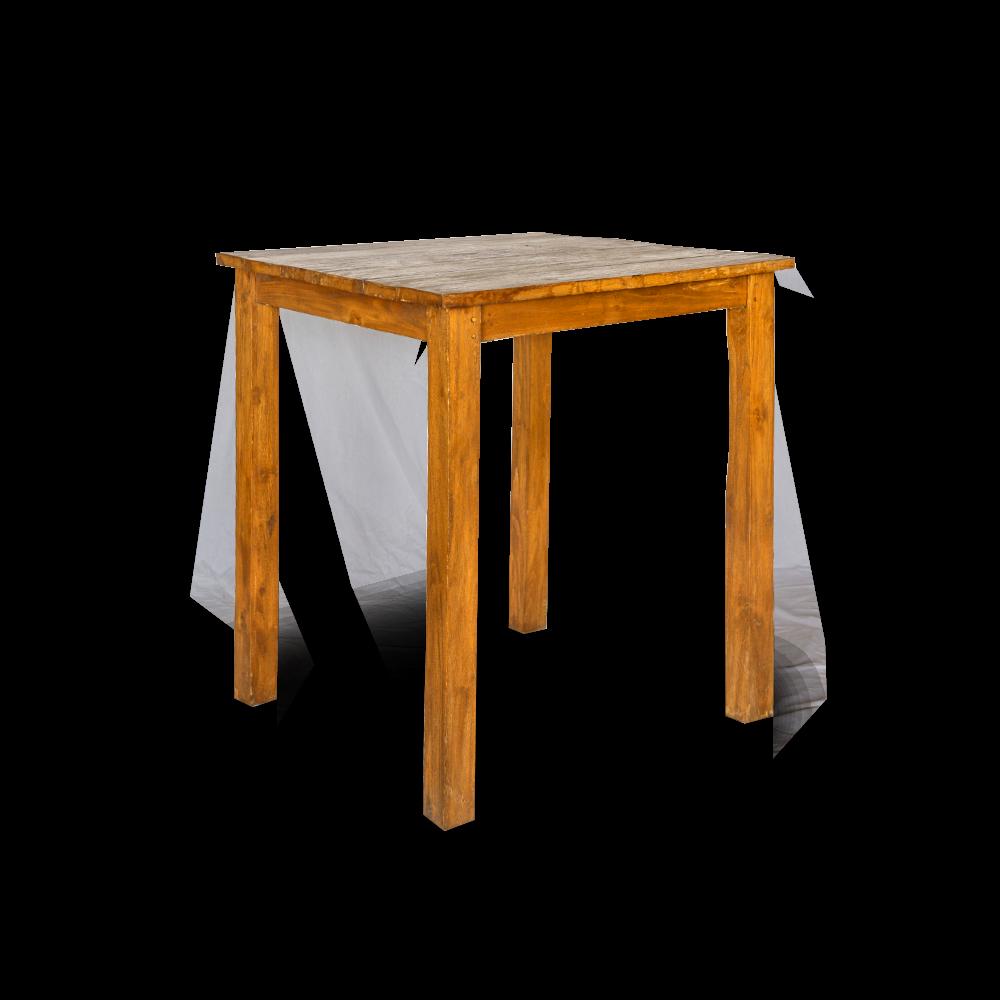 Tavolo bar in legno di teak massello