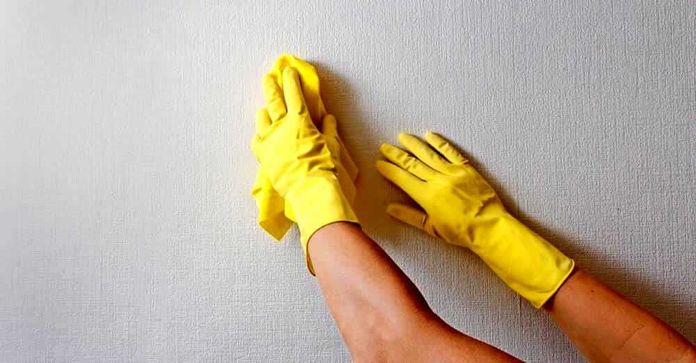 How to clean your home walls