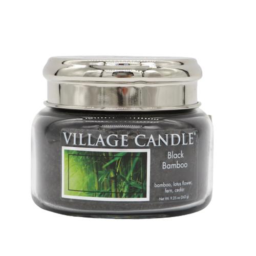 Village Candle Black bamboo 50 ore candela