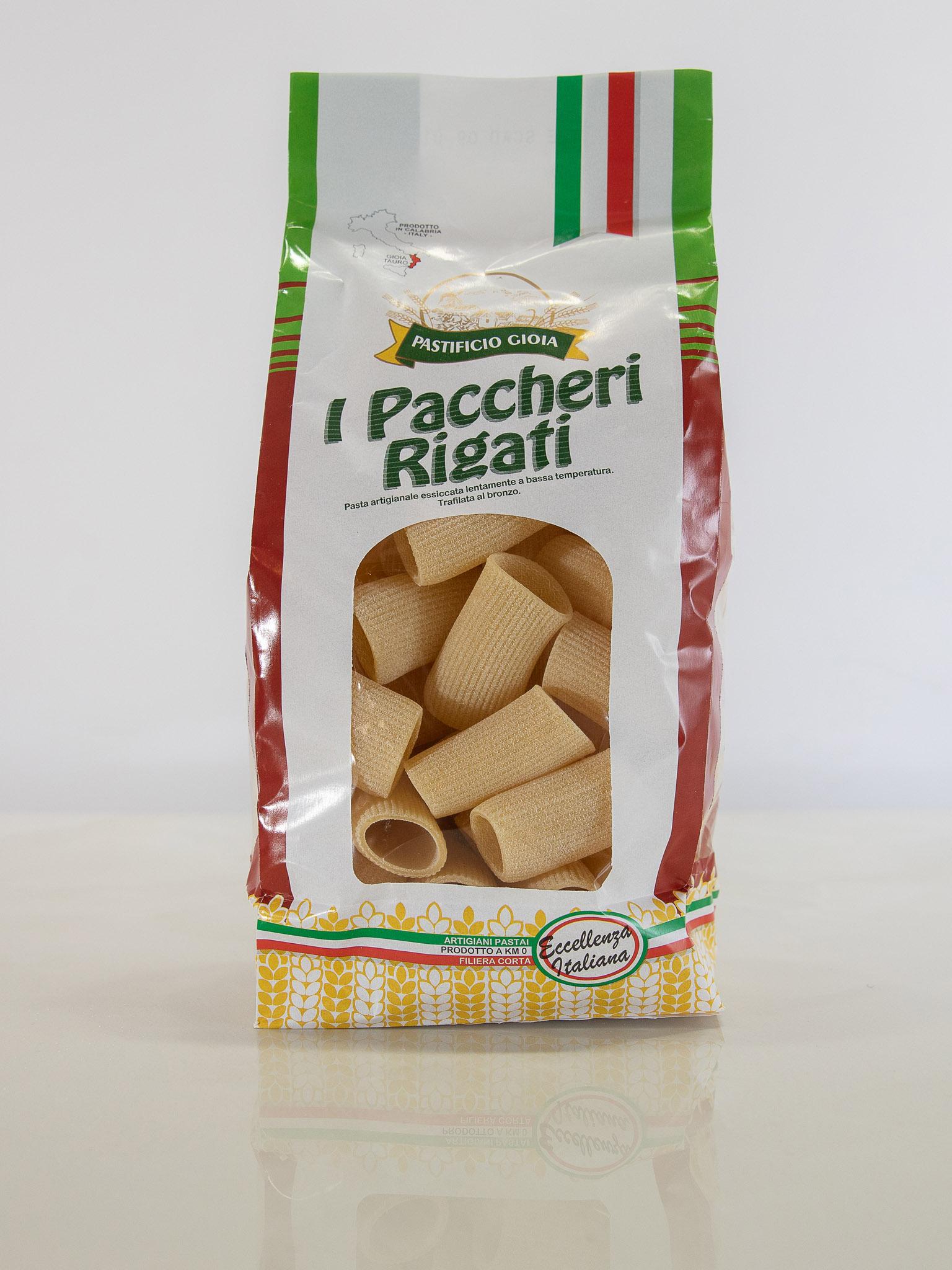 I Paccheri Rigati (500gr)