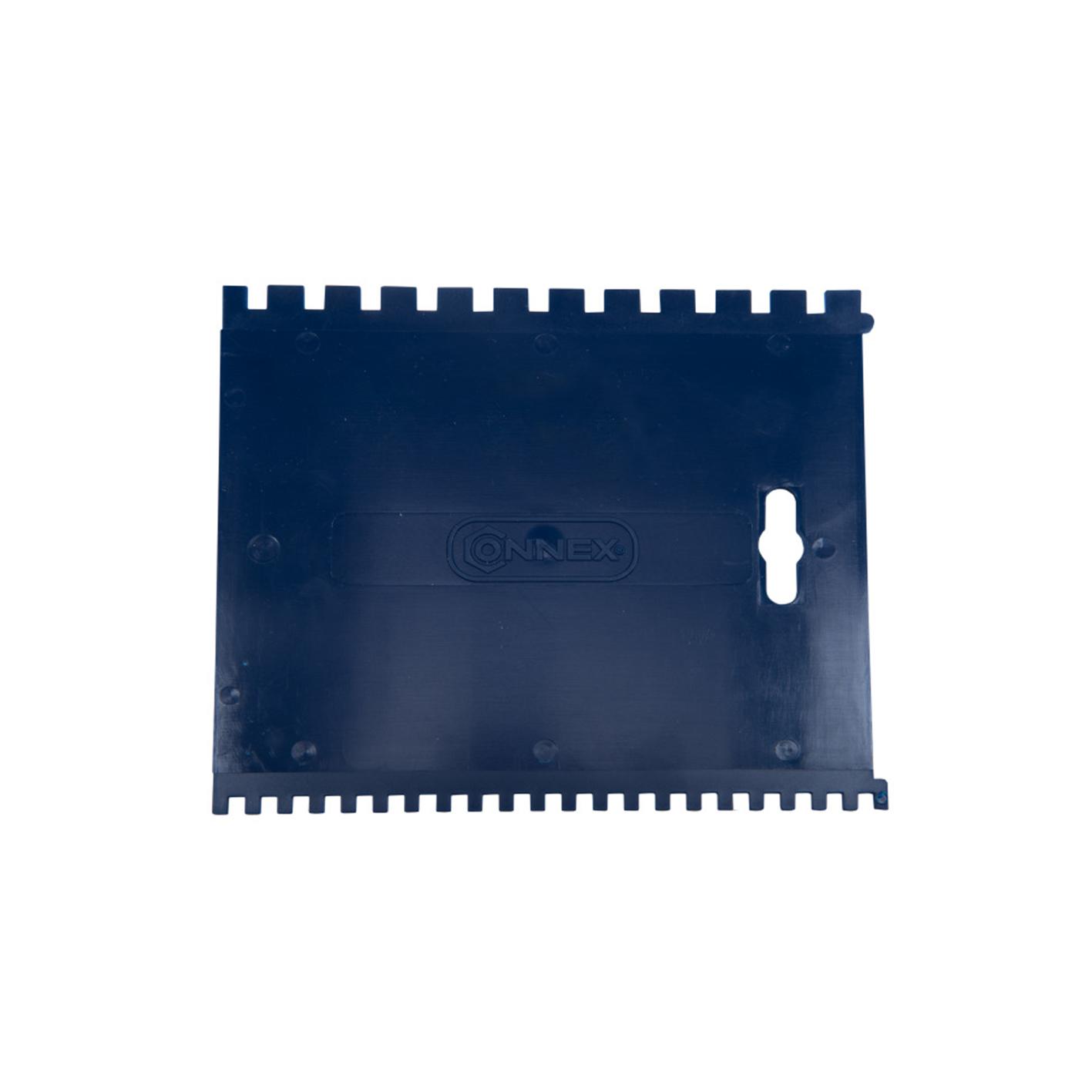 SPATOLA PLAST.2 DENTAT.180X125