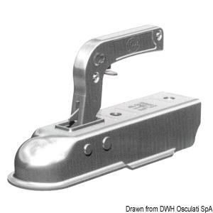 Gancio Traino Quadro 60mm 750kg - Osculati