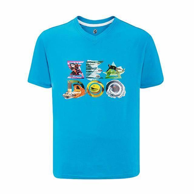 T-Shirt Spark Uomo Azzurro (L)