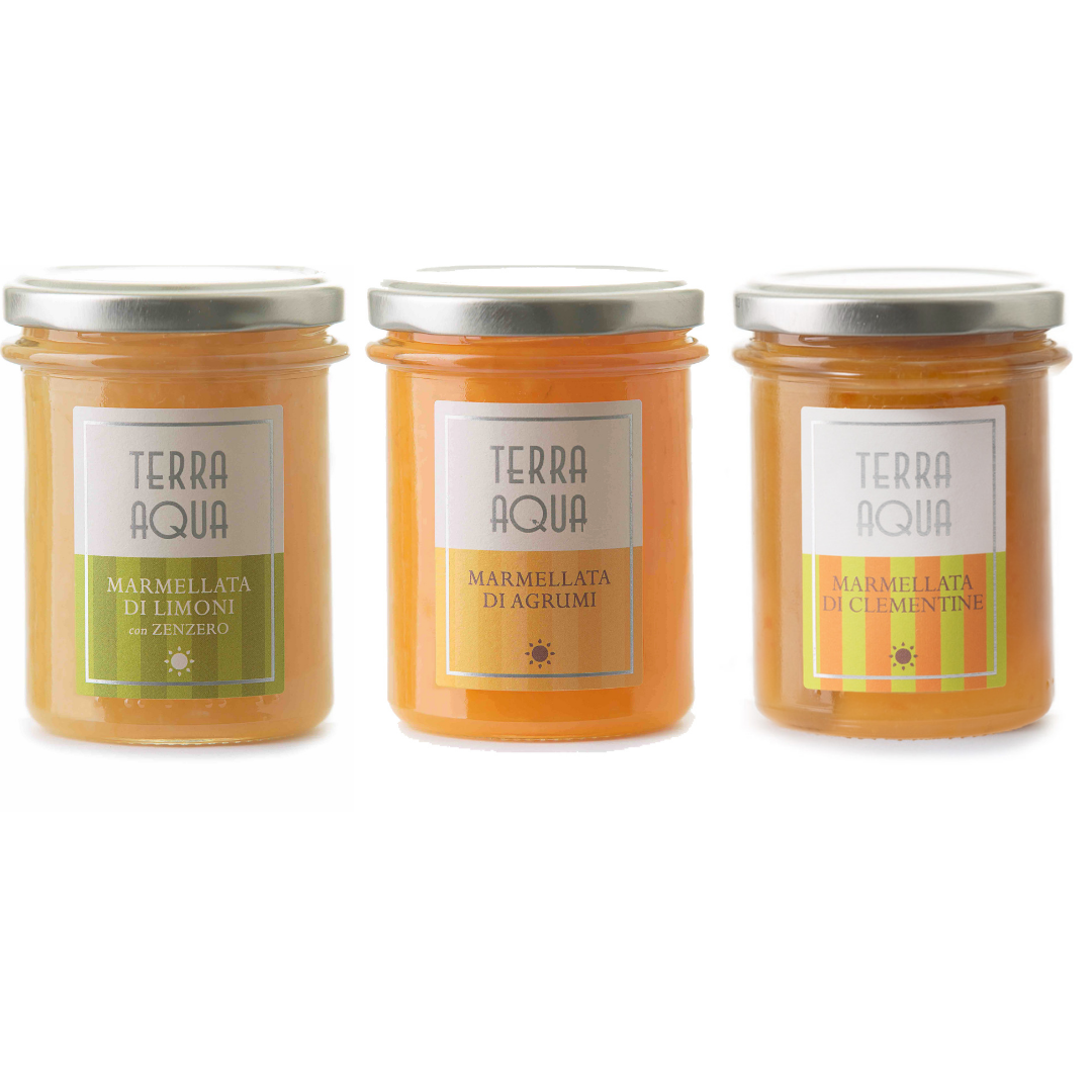 |Speciale Famiglia| 6 Vasi Marmellate di Agrumi e Clementine - Misti | Peso netto 1,44kg |