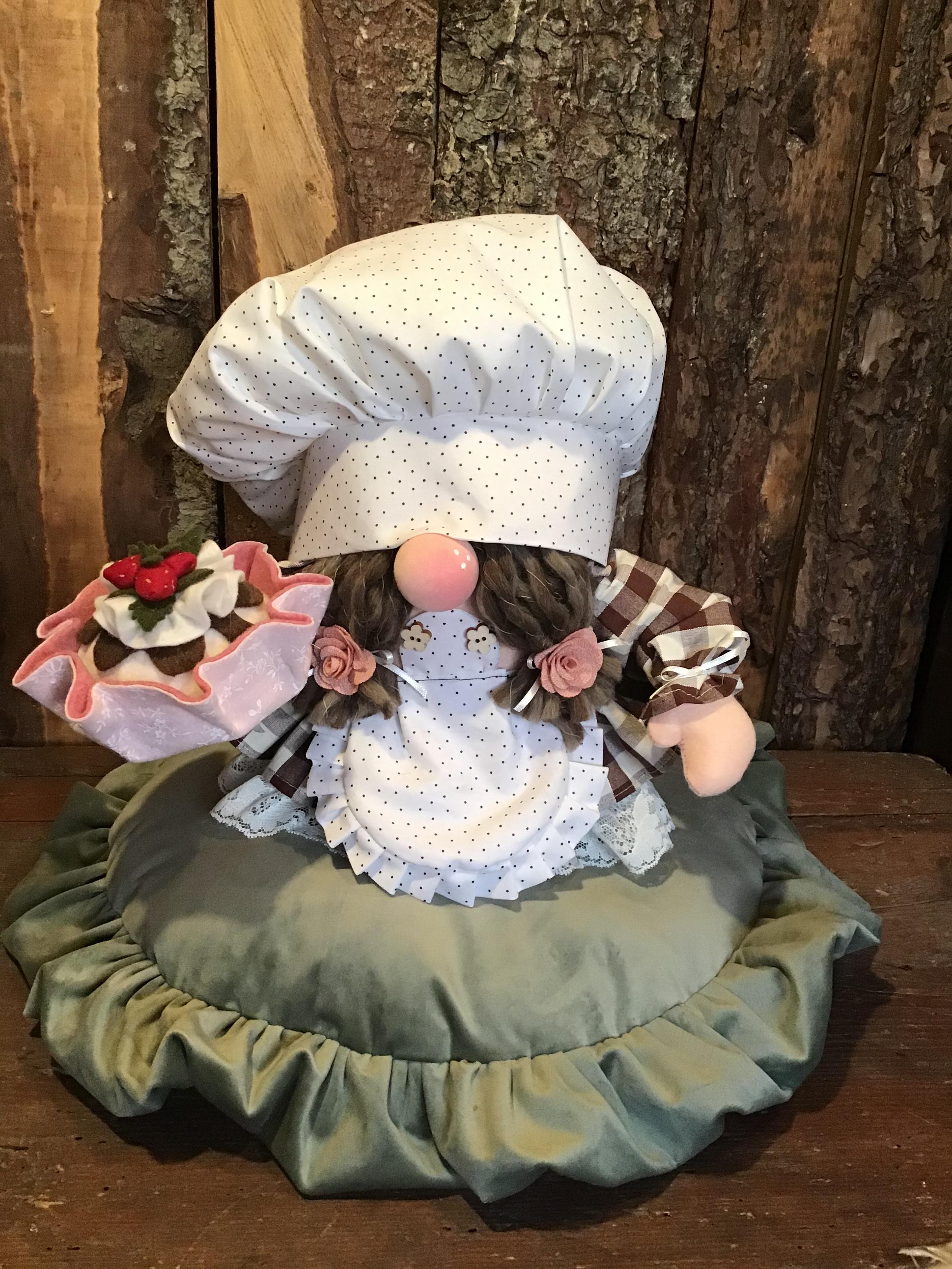Cartamodello gnometta pasticciona