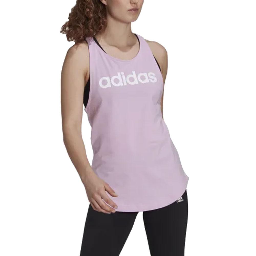 Adidas Canotta Sportswear Rosa da Donna