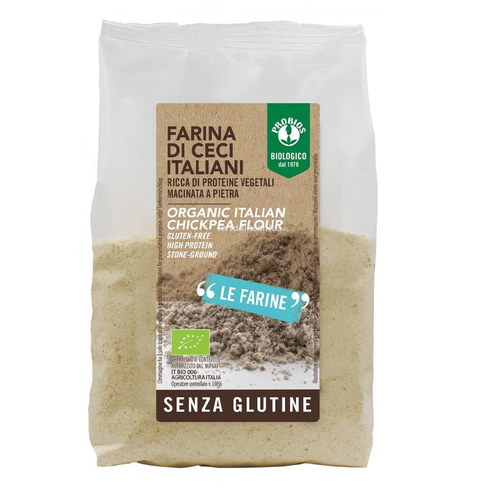 FARINA DI CECI - senza glutine  375g  PROBIOS