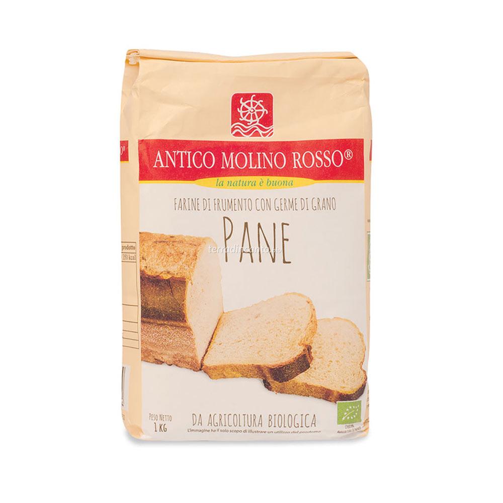 Miscela di farine per pane Antico molino rosso