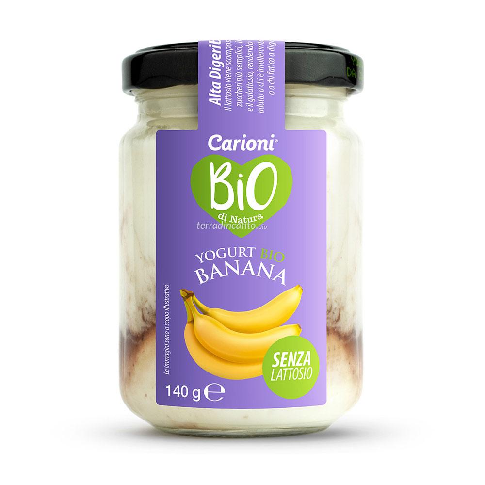 Yogurt senza Lattosio alla Banana 140 gr