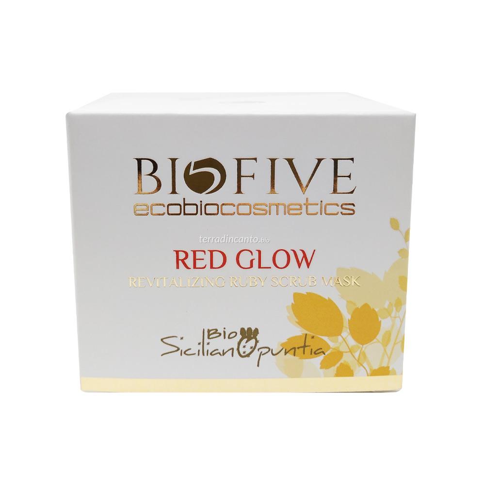 Opuntia Red Glow Revitalizing Ruby Scrub Mask