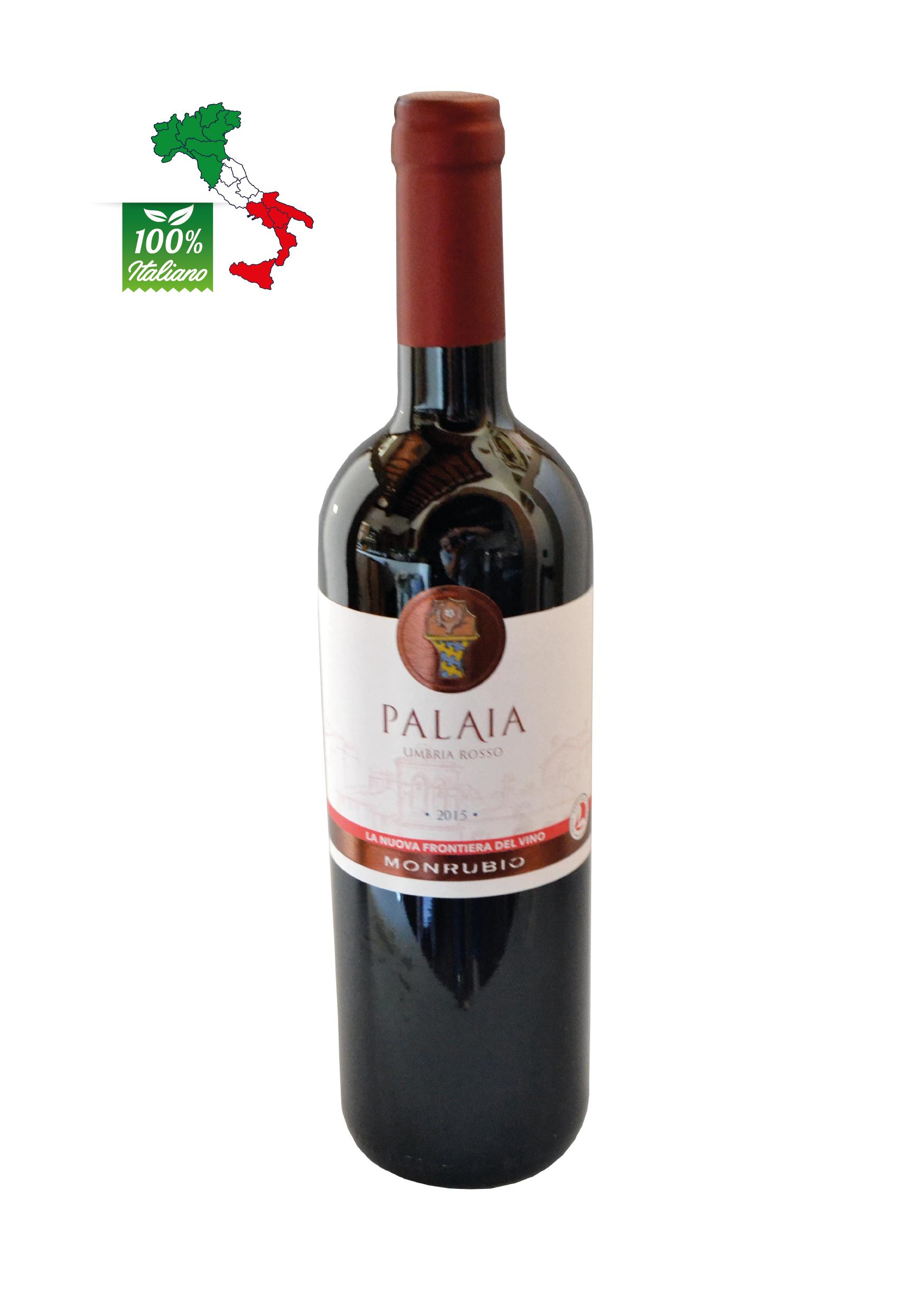 Vino Rosso UMBRIA IGT bottiglia da lt. 0,75