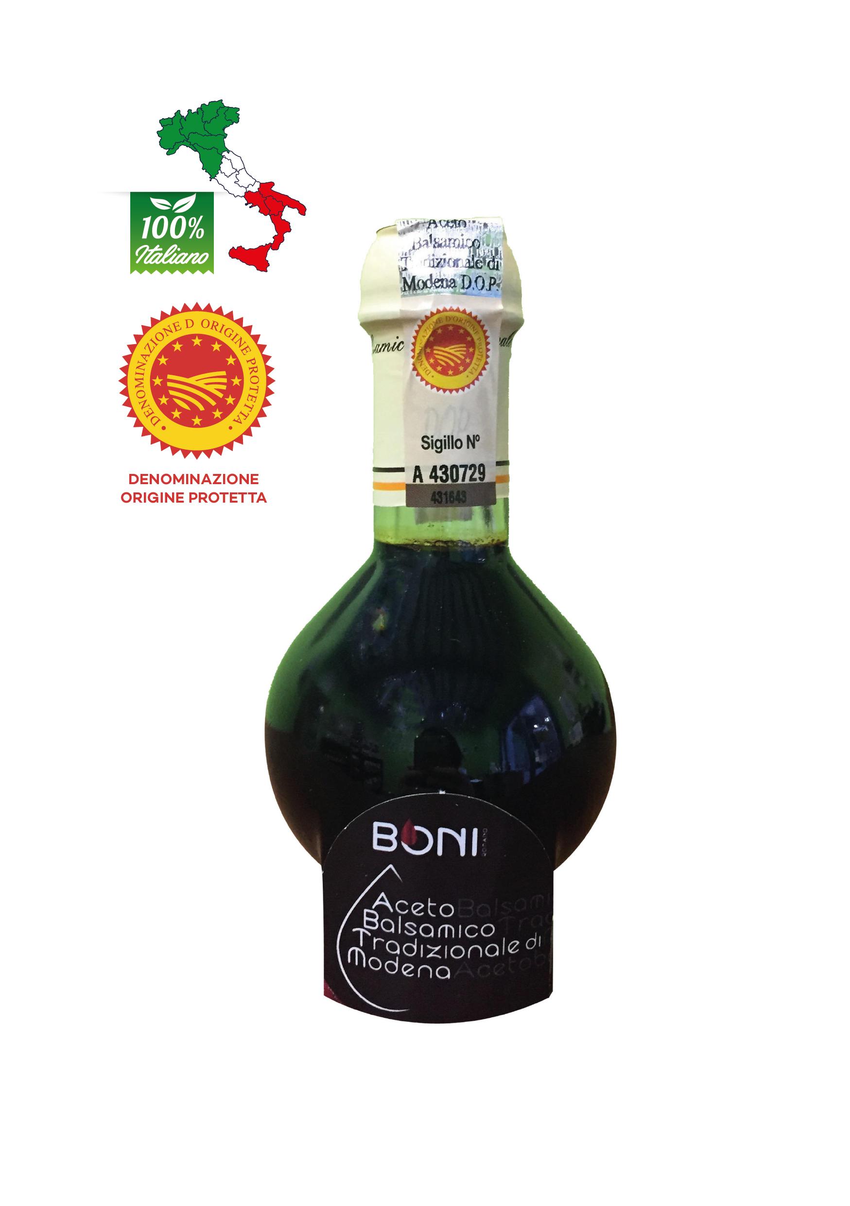 Aceto DOP Balsamico Tradizionale di Modena invecchiato almeno 12 anni  cl 10