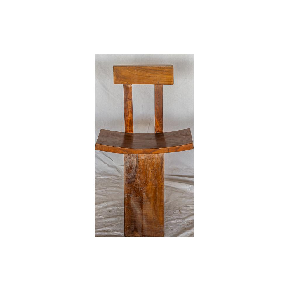 Sedia in legno di teak balinese