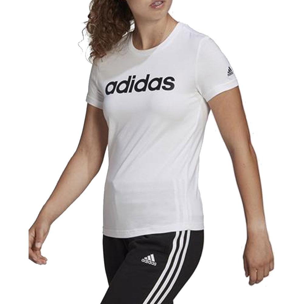 Adidas T-Shirt Scritta da Donna