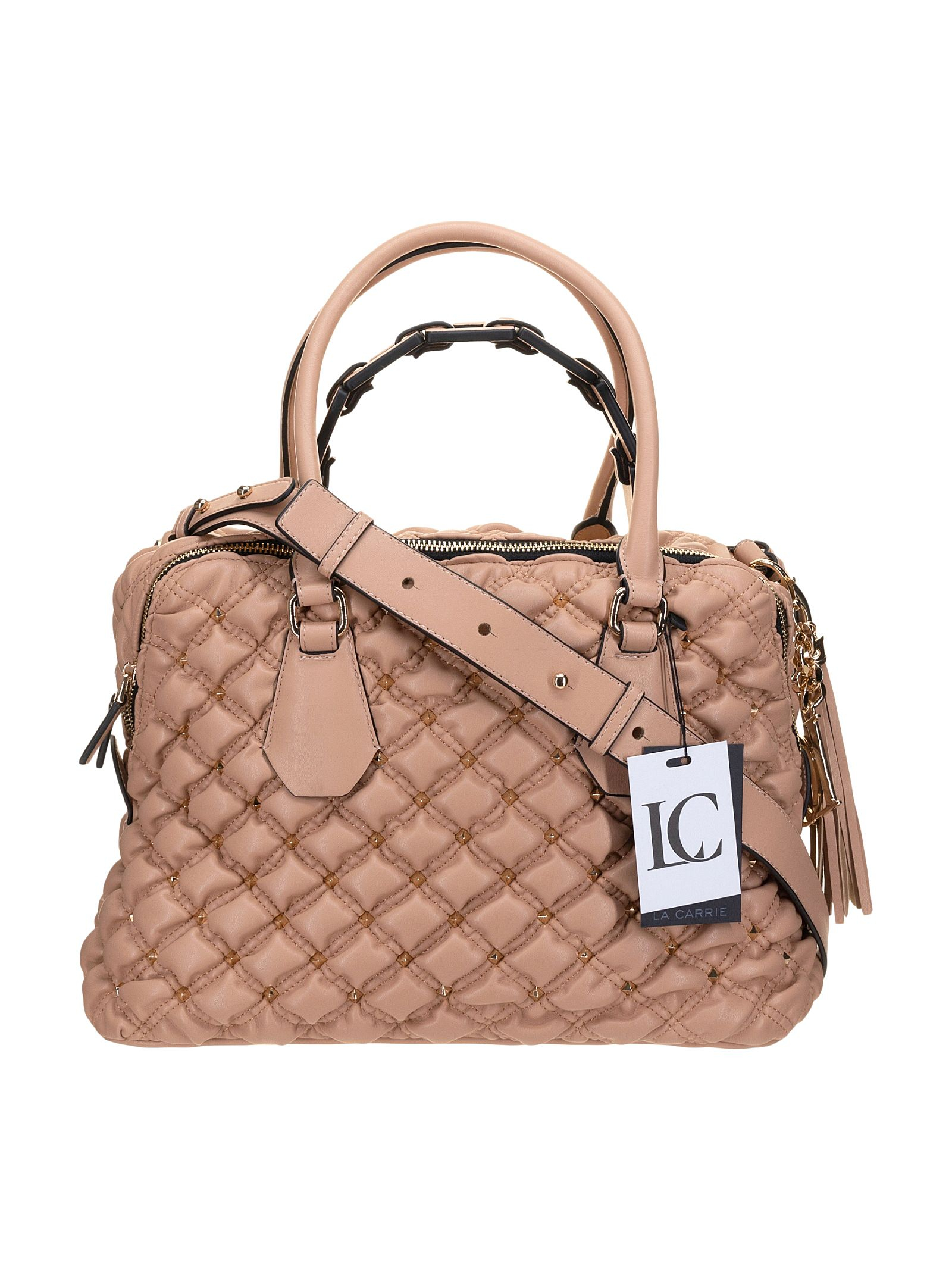La Carrie Borsa a Mano Old Pink