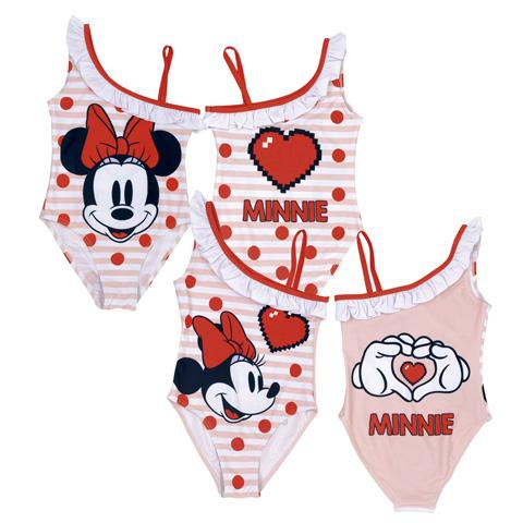 Costume intero Minnie monospalla da 4 a 6 anni