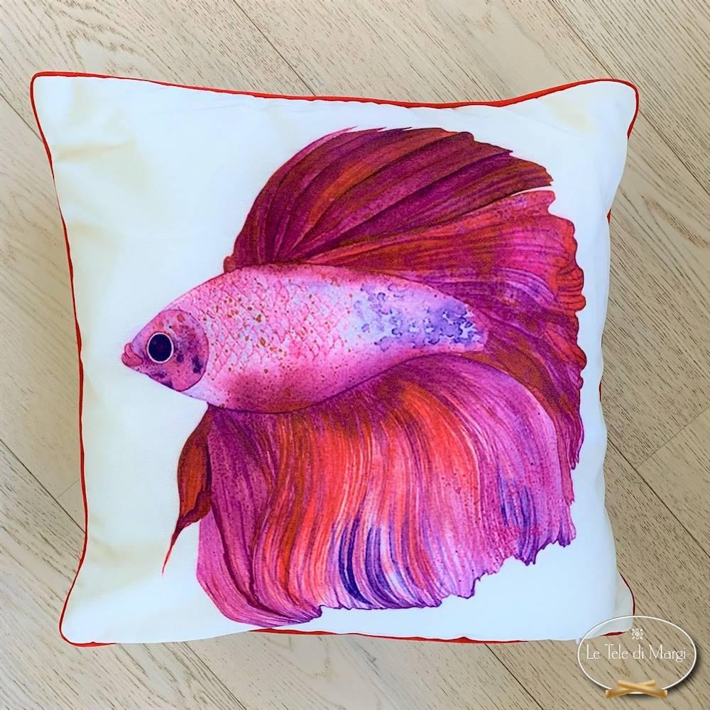 Cuscino pesce Criniera