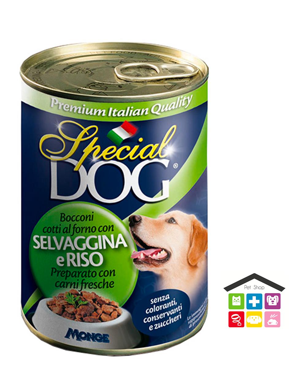 Special dog Bocconi con Selvaggina e Riso 400 g