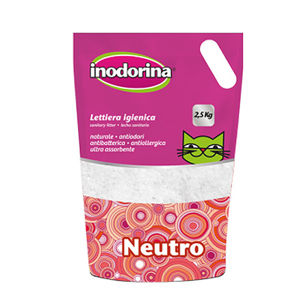 Inodorina lettiera magique neutro 16lt PROMOZIONE