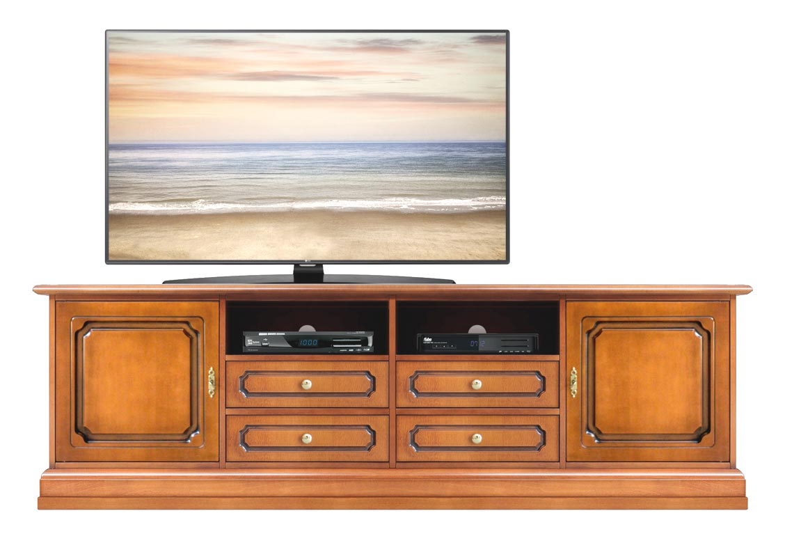 Tv stand 4 drawers and 2 doors