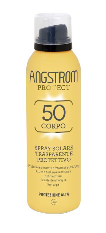 Angstrom spray 50 corpo trasparente 150ml
