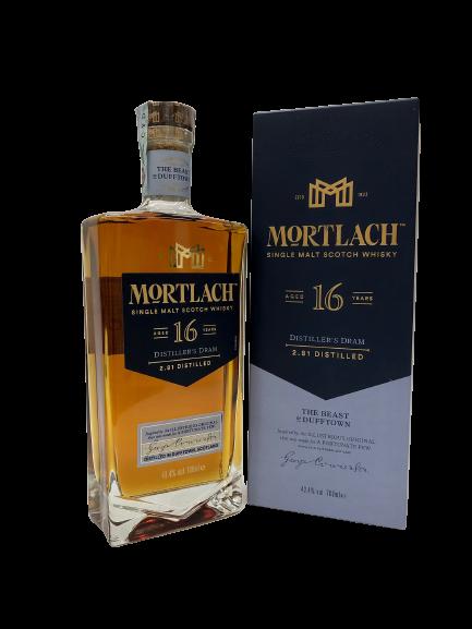Mortlach 16 years Old Distiller's Dram- Single Malt Scotch Whisky