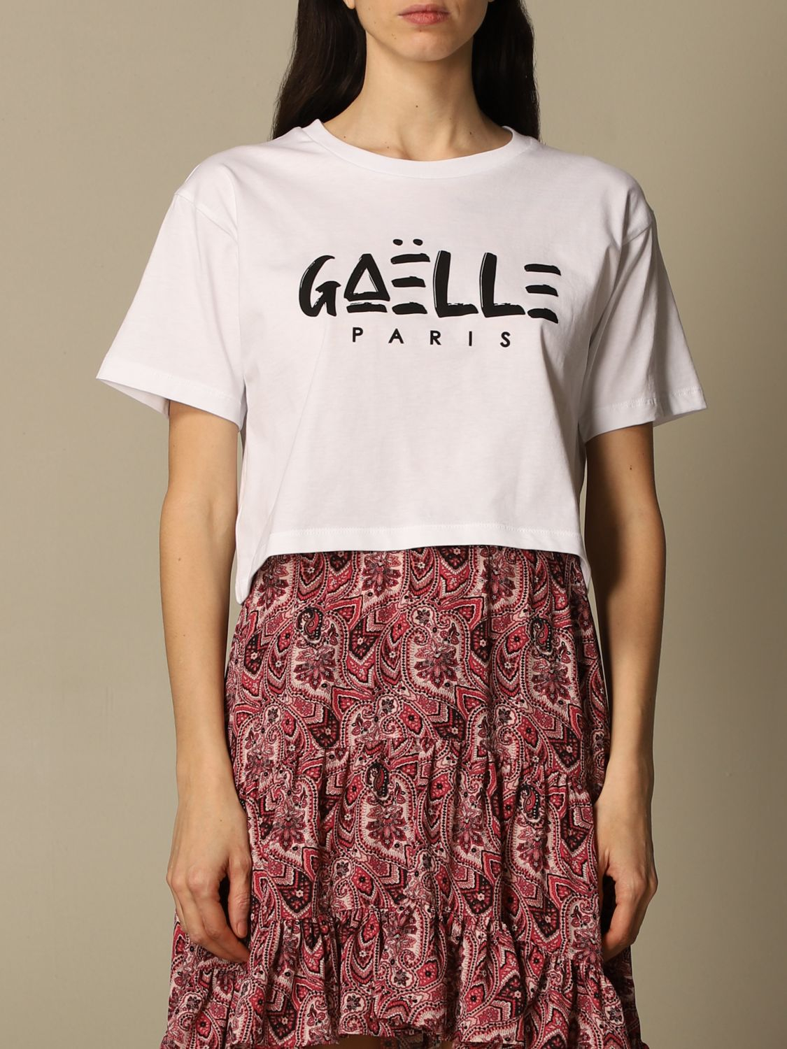 T-shirt a scatoletta gaelle paris