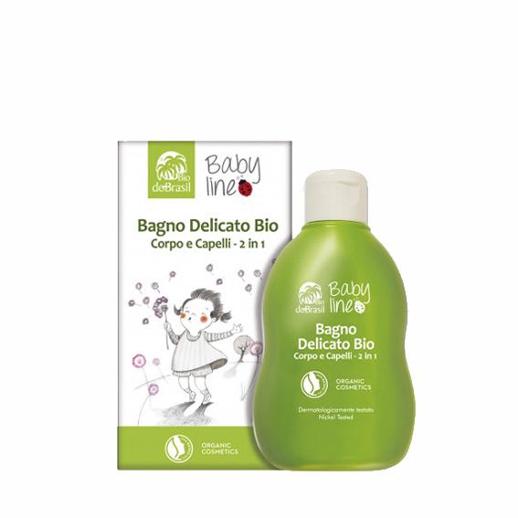 DoBrasil, Baby Line Bagno Delicato Corpo e capelli 150ml