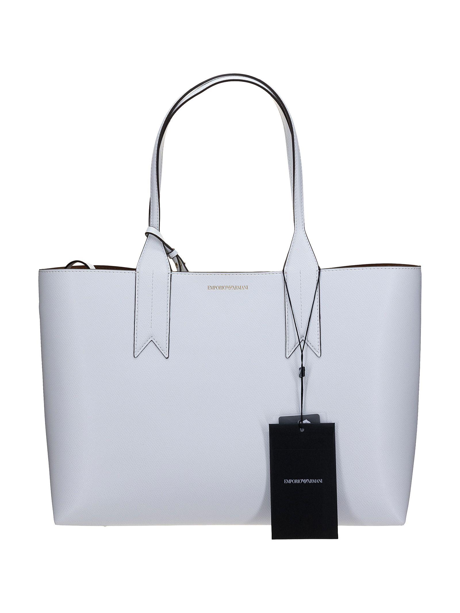 Emporio Armani Shopping Bianca