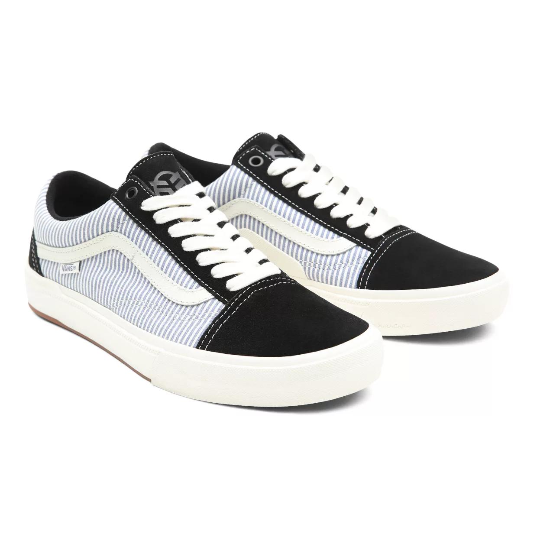 Vans x Federal Old Skool Shoes   Colore Black / White / Blue