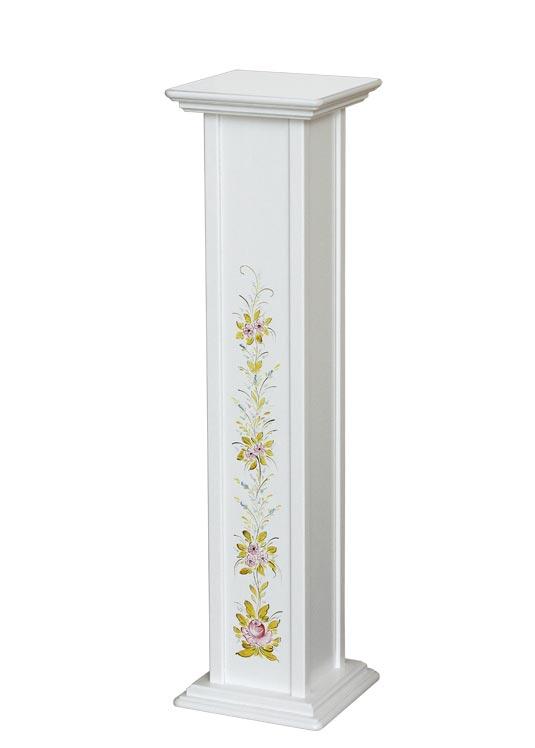 Vasenständer mit Dekor aus Holz