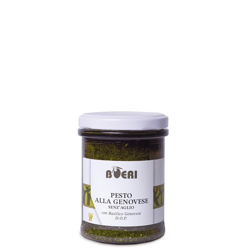 Pesto alla Genovese con basilico Genovese DOP senza aglio 180 g