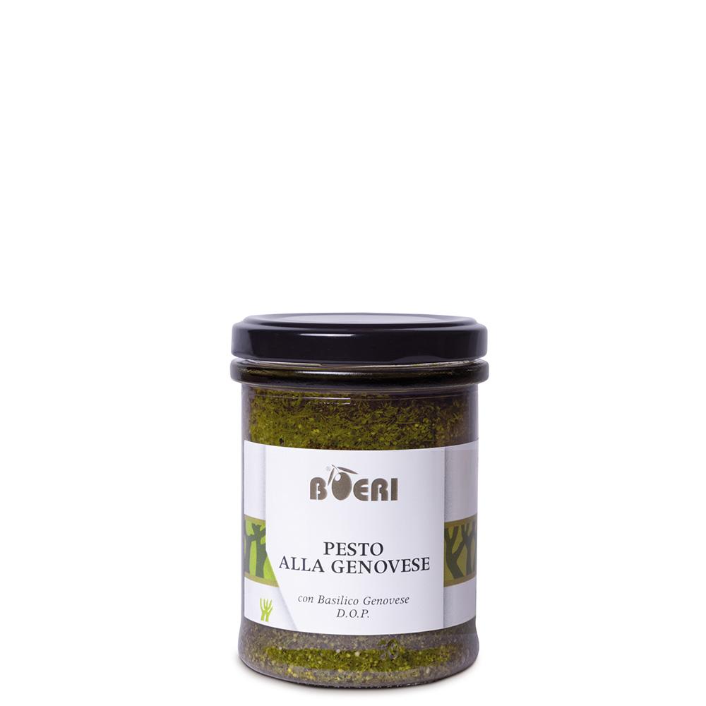 Pesto alla genovese con basilico genovese DOP