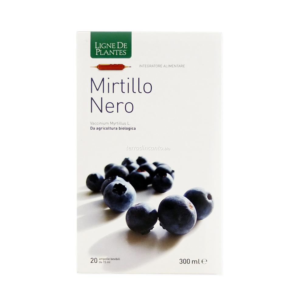 Mirtillo Nero Macerato Acquoso in Ampolle Ligne de Plantes