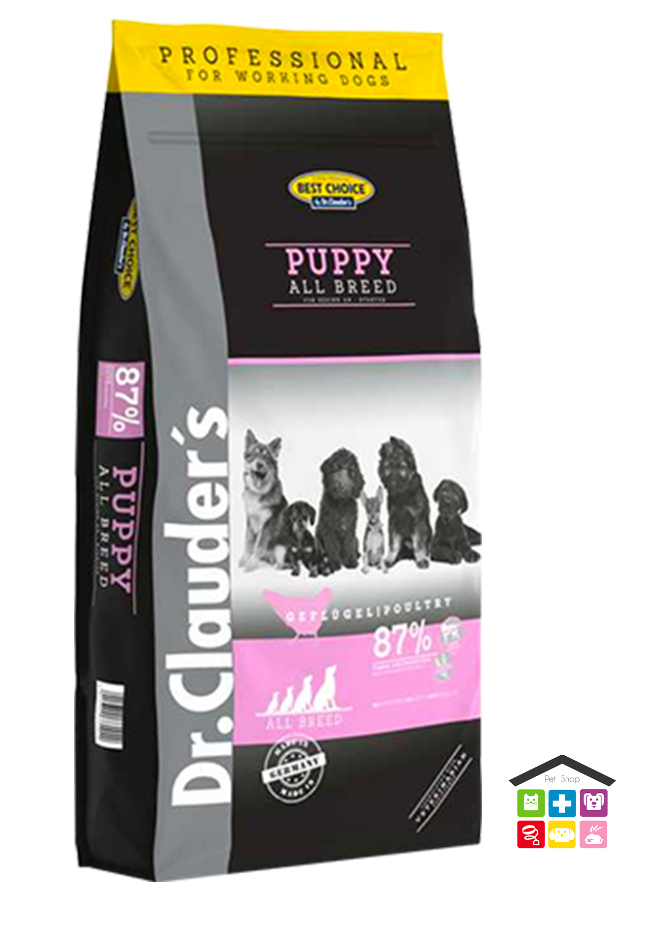 DR CLAUDER'S | Linea SECCO Cane - BEST CHOICE PUPPY - ALL BREEDS / 20Kg