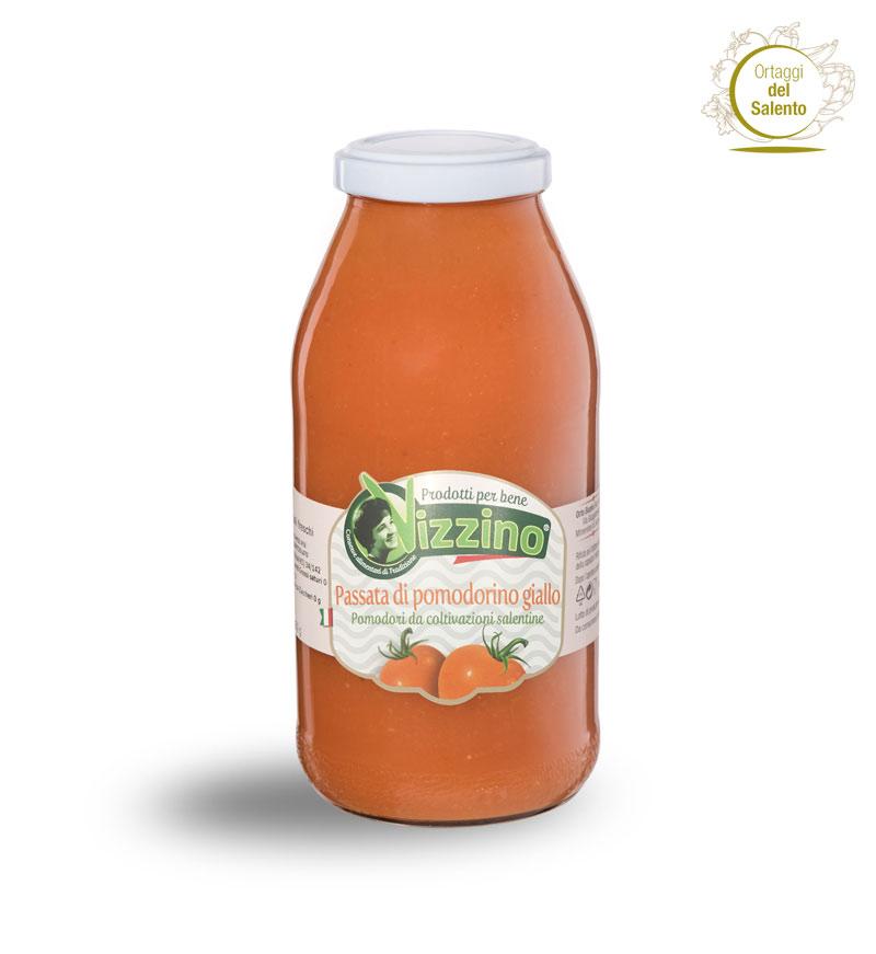 Passata di pomodorino giallo del Salento - Vizzino