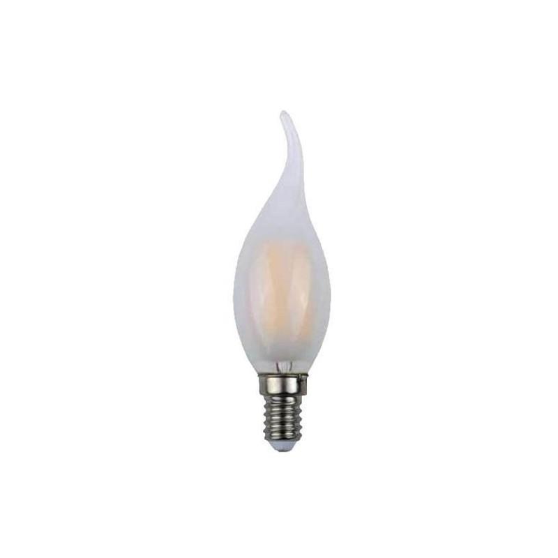 LAMPADINA A SOFFIO DI VENTO LUCE CALDA LED 4W=40W