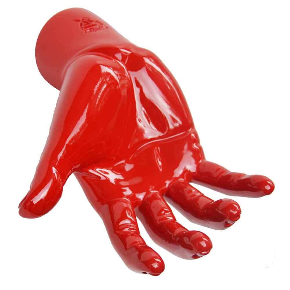 Portachiavi da parete Houdini rosso in resina decorato a mano