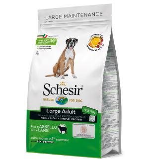 SCHESIR Large  Adult Maintenance Ricco in Agnello 12kg