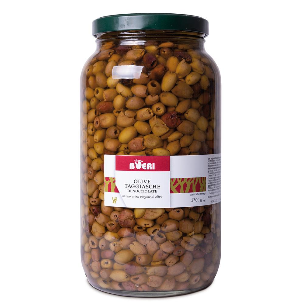 Olive Taggiasche denocciolate  sott'Olio Extra Vergine 3100 ml