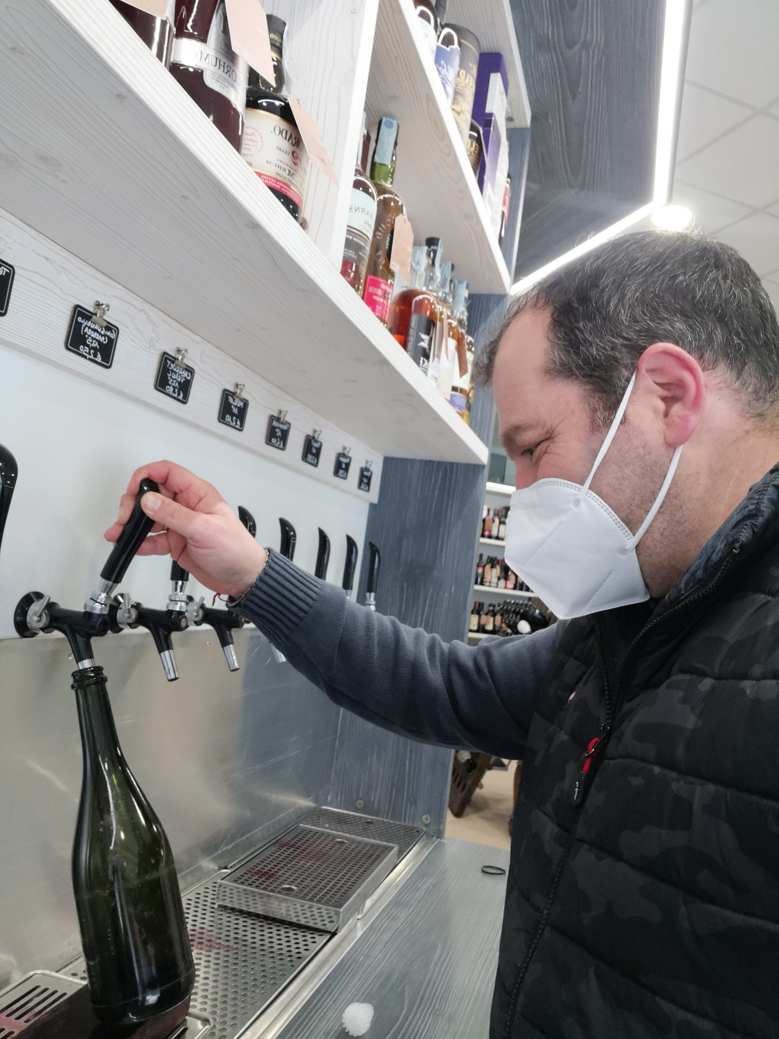 Vino sfuso Ghignanello (tipo Barbera) - 3 litri
