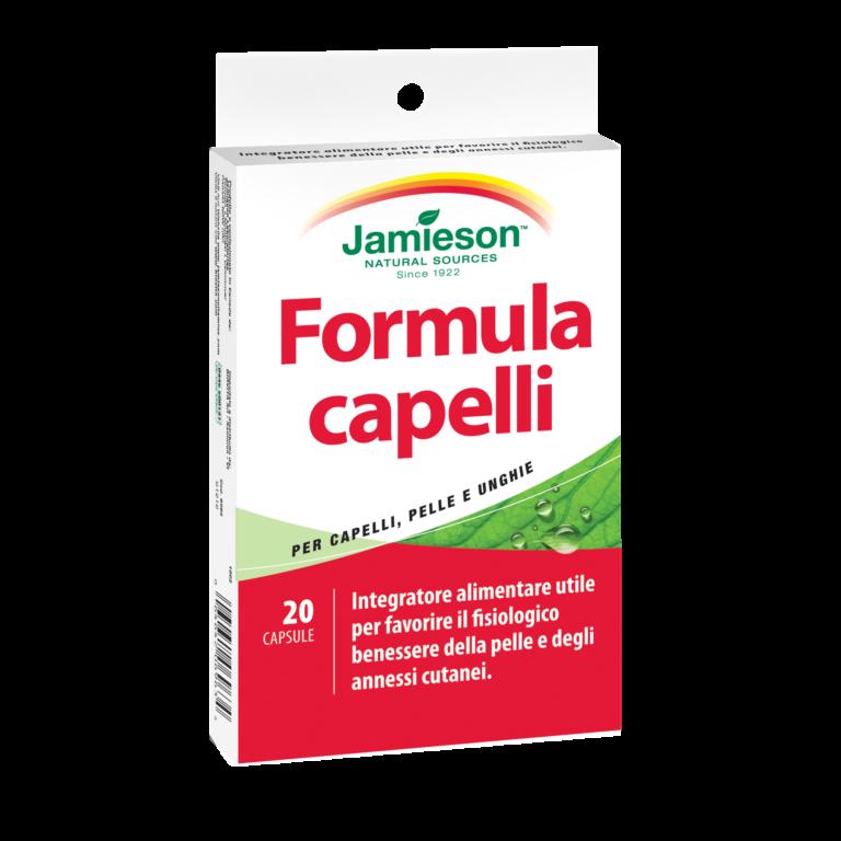 Jamieson, Formula Capelli 20 cps