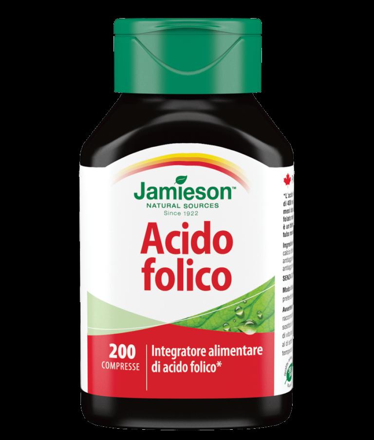 Jamieson, Acido Folico 200cps
