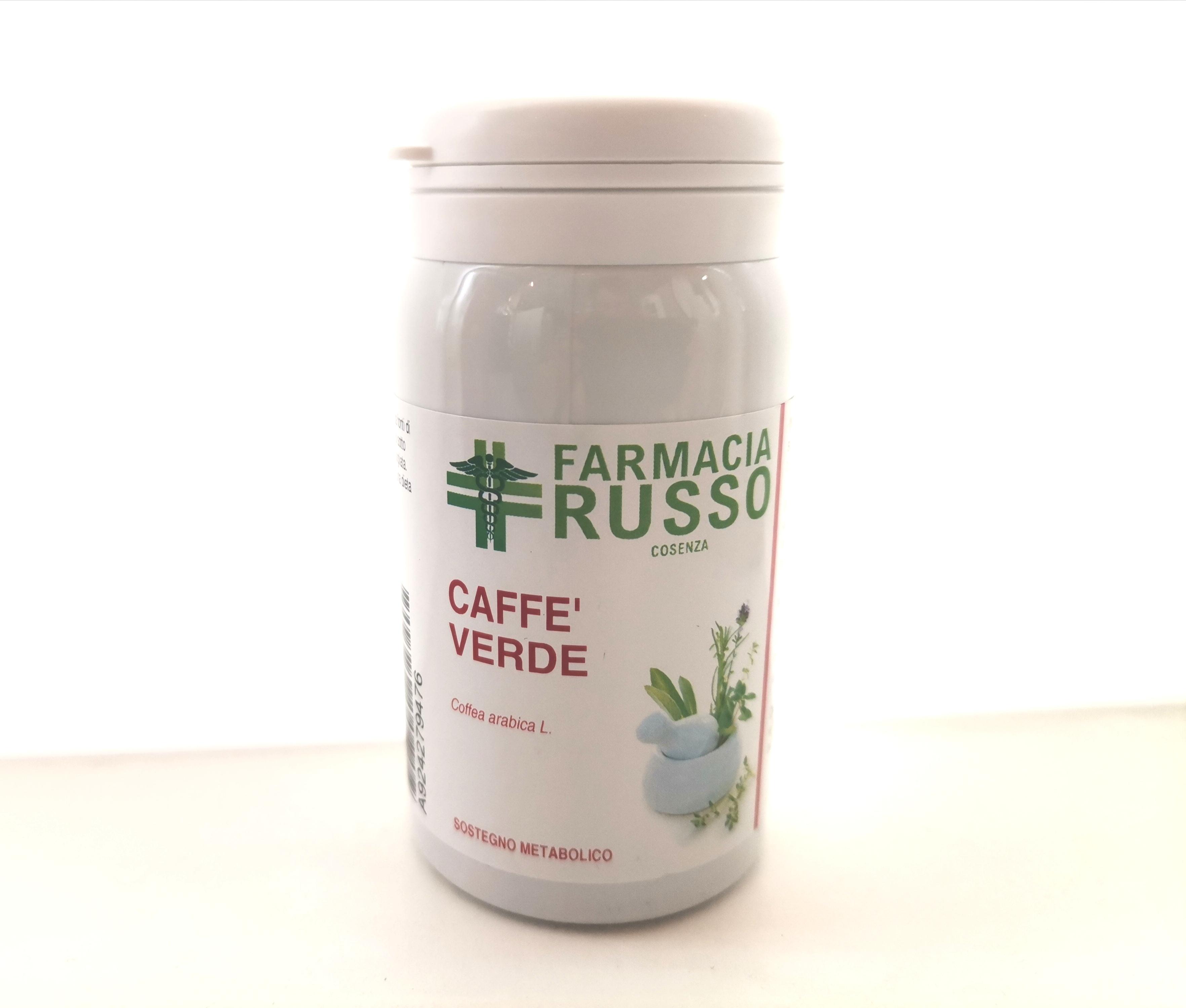 CAFFÈ VERDE 60 CAPSULE UTILE PER FAVORIRE UN' AZIONE DI SOSTEGNO METABOLICO. CONTRASTA GLI EFFETTI DEI RADICALI LIBERI CON AZIONE ANTIOSSIDANTE.