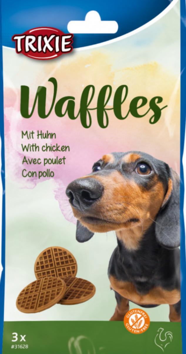 Snack per cani WAFFEL al pollo TRIXIE