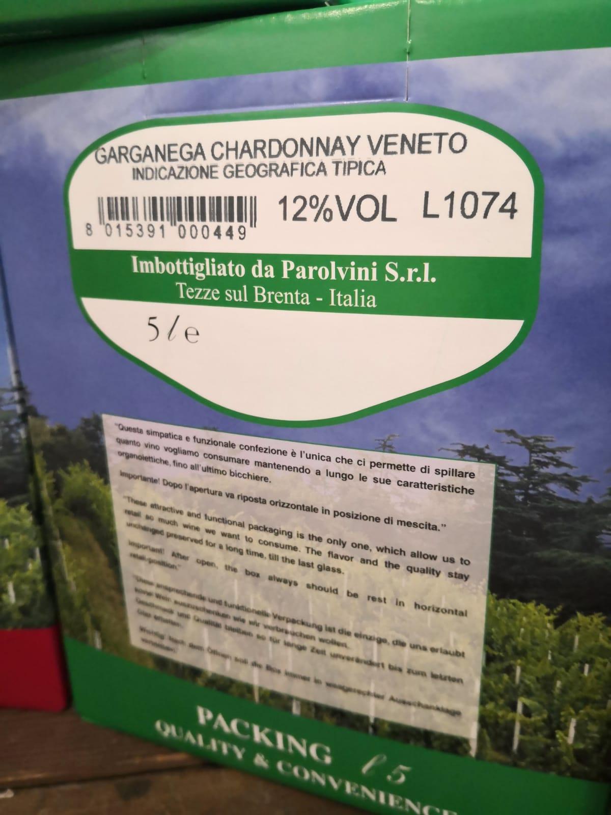 Bag in box Garganega Chardonnay del Veneto