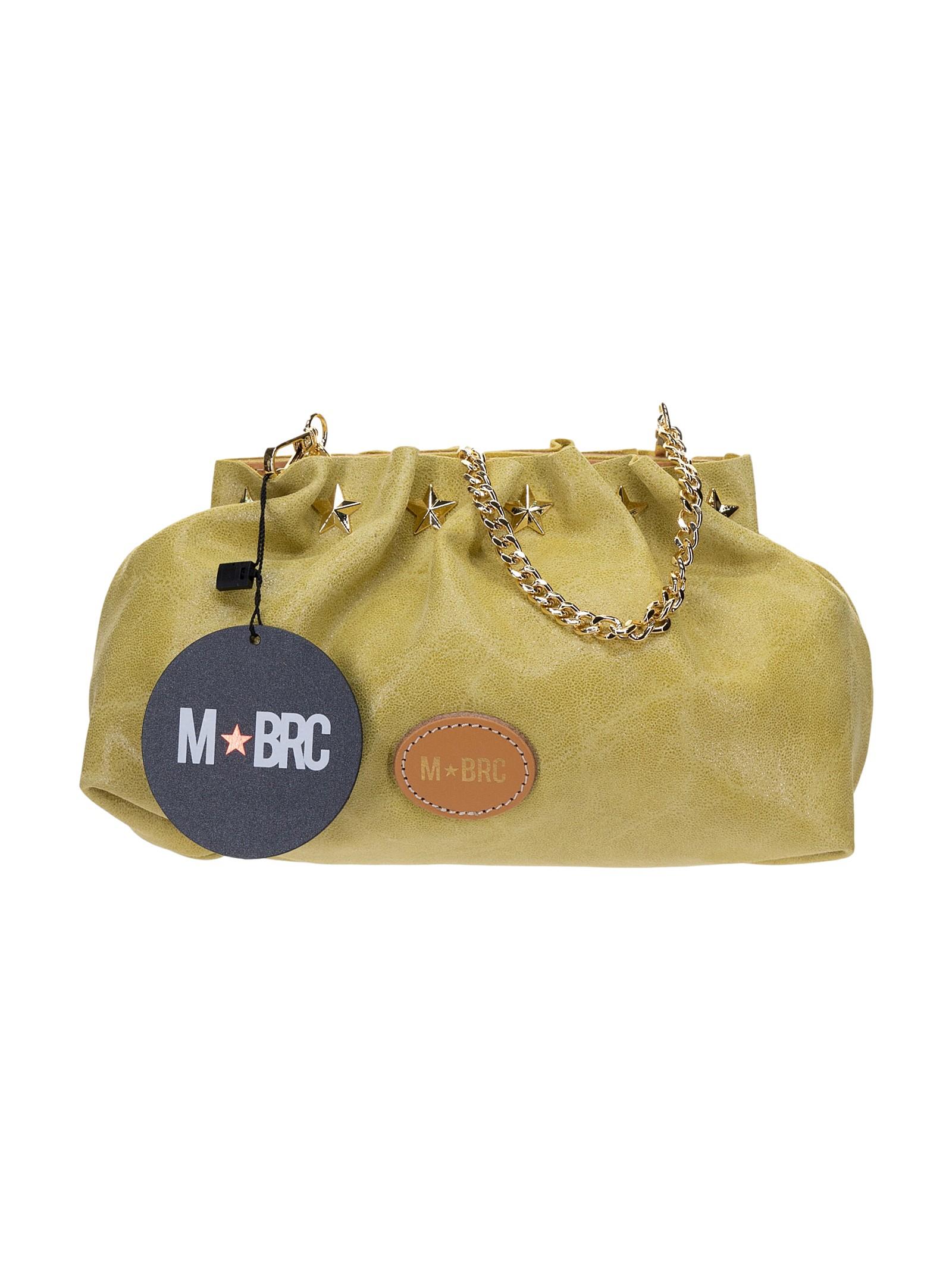 M BRC Borsa Pochette Giallo